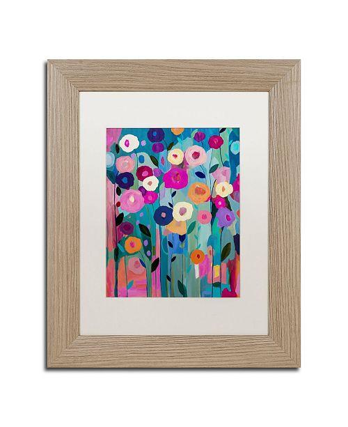 """Trademark Global Carrie Schmitt 'Nurture Your Soul' Matted Framed Art - 11"""" x 14"""""""