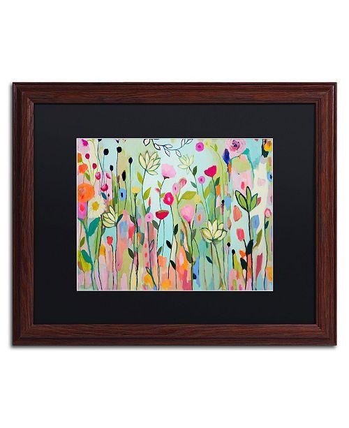 """Trademark Global Carrie Schmitt 'Padmasana' Matted Framed Art - 16"""" x 20"""""""