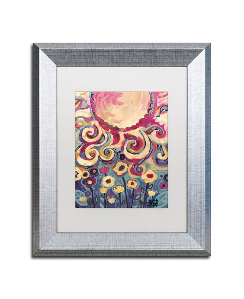 "Trademark Global Natasha Wescoat '148' Matted Framed Art - 11"" x 14"""