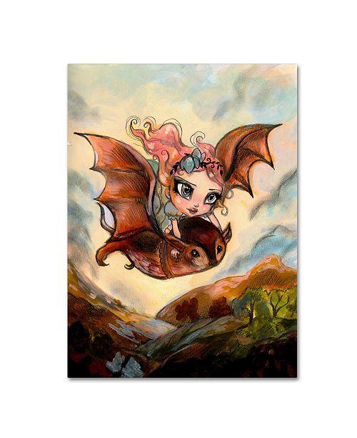 "Trademark Global Natasha Wescoat 'Dreaming Of Flying' Canvas Art - 35"" x 47"""