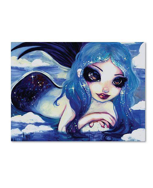 "Trademark Global Natasha Wescoat 'Ice Mermaid' Canvas Art - 35"" x 47"""