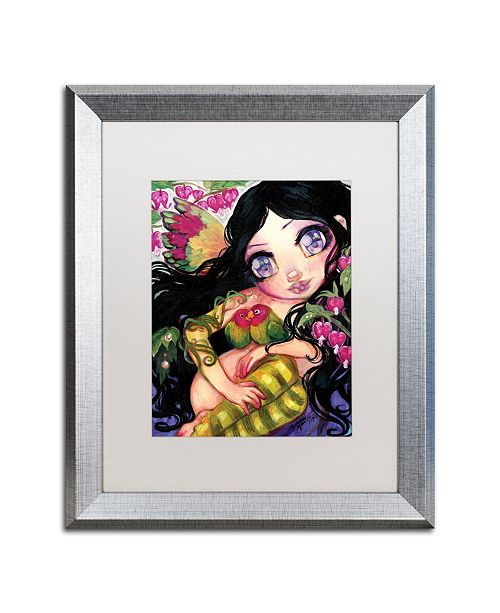 "Trademark Global Natasha Wescoat 'Love Is In The Air' Matted Framed Art - 16"" x 20"""