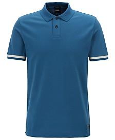 BOSS Men's Phillipson 59 Slim-Fit Logo-Collar Polo Shirt