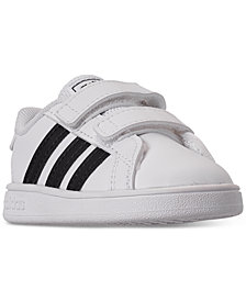 adidas Little Kids' Grand Court Casual Sneakers from Finish Line
