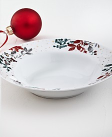 Martha Stewart Collection Royal Blush Dinner Bowl, Created for Macy's