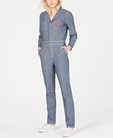 Dickies Cotton Herringbone Jumpsuit