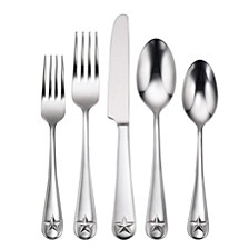 Tindra 45-PC Flatware Set, Service for 8