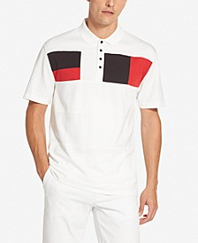 Men's Interlock Colorblocked Polo Shirt