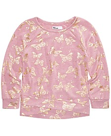 Epic Threads Little Girls Butterfly Top, Created for Macy's
