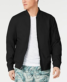 American Rag Men's Solid Ace Bomber Jacket, Created for Macy's