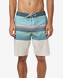 "Men's Club Cruzer Stripe 20"" Board Shorts"