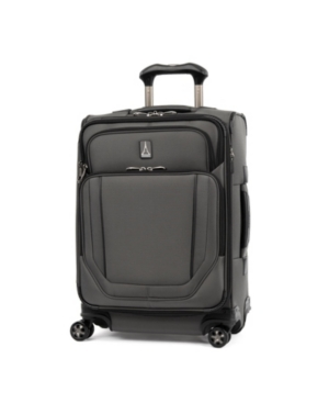 "Travelpro Crew Versapack 20"" 2-wheel Global Softside Carry-on In Titanium Gray"