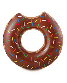 Play Gourmet Chocolate Doughnut - Inflatable Swimming Pool Tube