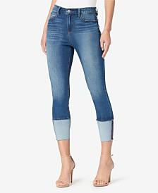 Skinnygirl High Rise Skinny Crop Jeans