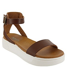 Girls Little Ellen Sneaker Bottom Sandals