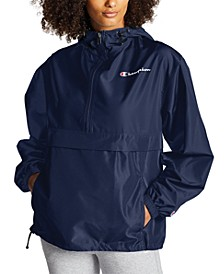 Women's Packable Hooded Jacket