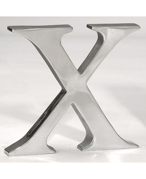 """St. Croix KINDWER 6"""" Aluminum Letter X"""