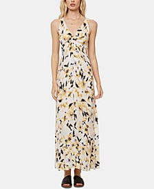 Juniors' Theodora Twisted Maxi Dress