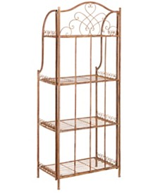 Amaris  4 Tier Bakers Rack, Quick Ship