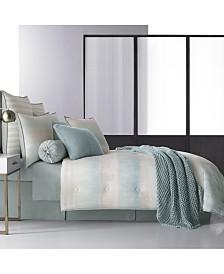 Oscar|Oliver Vince Aqua Queen Comforter Set
