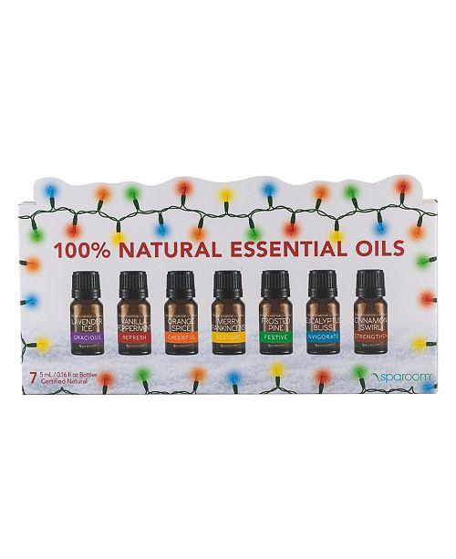 SpaRoom Holiday Essential Oil 7 Pack
