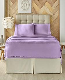 Five Queens Court Royal Fit 500 TC Cotton-blend California King Sheet Set
