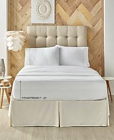 J. Queen New York Royal Fit 300 TC Cotton-blend King Sheet Set