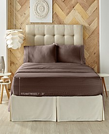 J. Queen New York Royal Fit 300 TC Cotton-blend King Sheet Set