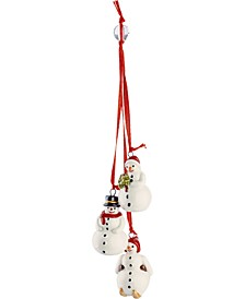 My Christmas Tree Trio Snowman Ornament
