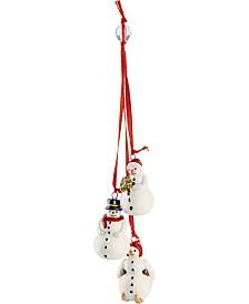 Villeroy & Boch My Christmas Tree Trio Snowman Ornament