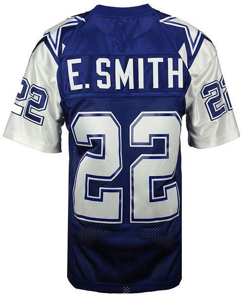 newest 2cb9e 934d6 Men's Emmitt Smith Dallas Cowboys Authentic Football Jersey