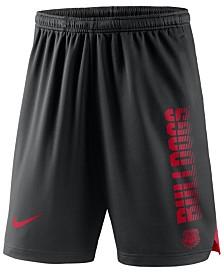 Nike Men's Georgia Bulldogs Breathe Knit Shorts