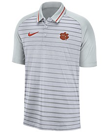 Nike Men's Clemson Tigers Stripe Polo