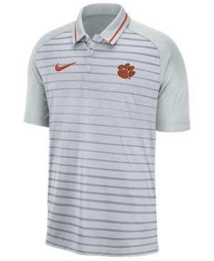 Nike Men's Clemson Tigers Stripe Polo