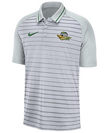 Nike Men's Oregon Ducks Stripe Polo