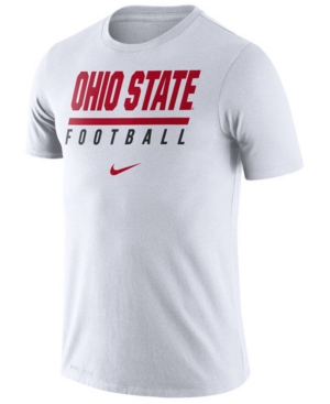 Nike Men's Ohio State Buckeyes Icon Wordmark T-Shirt