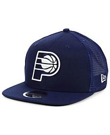 New Era Indiana Pacers Dub Fresh Trucker 9FIFTY Snapback Cap