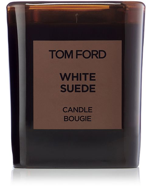 Tom Ford Private Blend White Suede Candle, 21-oz.