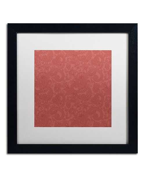 "Trademark Global Color Bakery 'Group 02 B' Matted Framed Art - 16"" x 16"""