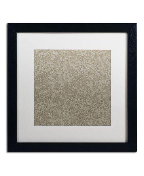"Trademark Global Color Bakery 'Group 03 B' Matted Framed Art - 16"" x 16"""
