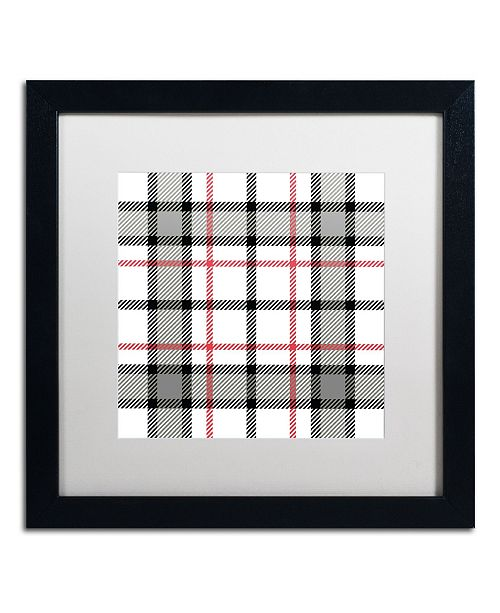 """Trademark Global Color Bakery 'Group 04 A' Matted Framed Art - 16"""" x 16"""""""