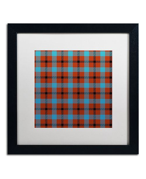 "Trademark Global Color Bakery 'Group 06 A' Matted Framed Art - 16"" x 16"""