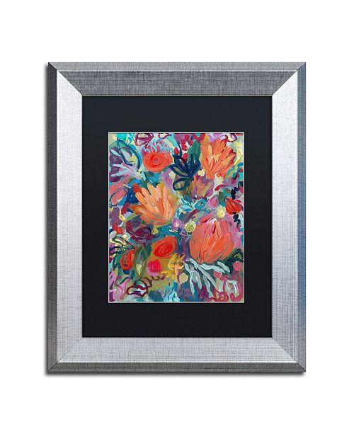 """Trademark Global Carrie Schmitt 'Mil Besos' Matted Framed Art - 11"""" x 14"""""""