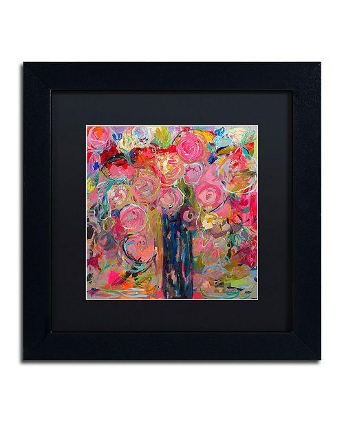 """Trademark Global Carrie Schmitt 'Release' Matted Framed Art - 11"""" x 11"""""""