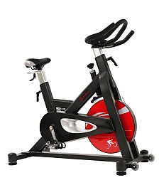 Sunny Health and Fitness Evolution Pro Magnetic Belt Drive Indoor Cycling Bike