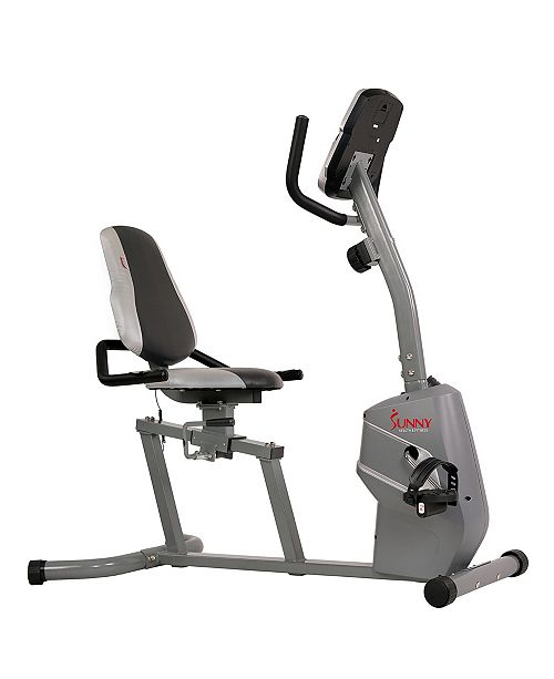 Sunny Health & Fitness Sunny Health and Fitness Magnetic Recumbent Bike