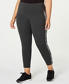 Plus Size Logo-Stripe Leggings