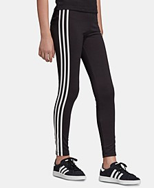 Big Girls 3-Stripes Leggings