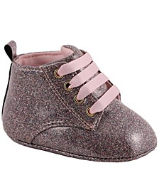 Baby Girl Glitter Hi-Top Ankle Bootie