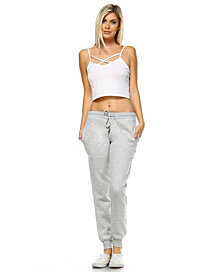 White Mark Amazingly Soft Jogger Pant